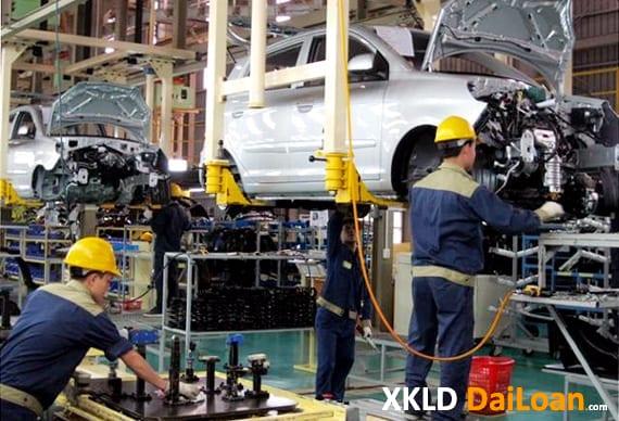 nhà máy đài trung tuyển nam lao động gia công linh kiện ô tô hợp đồng 3 năm