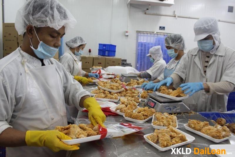 Tuyển 03 lao động nam làm thực phẩm tại Cao Hùng Đài Loan