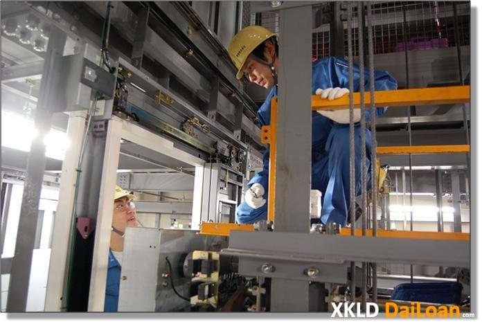 Tuyển nam làm lắp đặt thang máy tại Tân Bắc Đài Loan 1