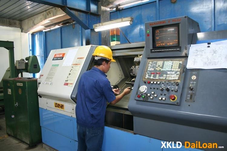 Tuyển 7 nam tốt nghiệp cấp 3 làm thao tác máy CNC ở Đài Trung