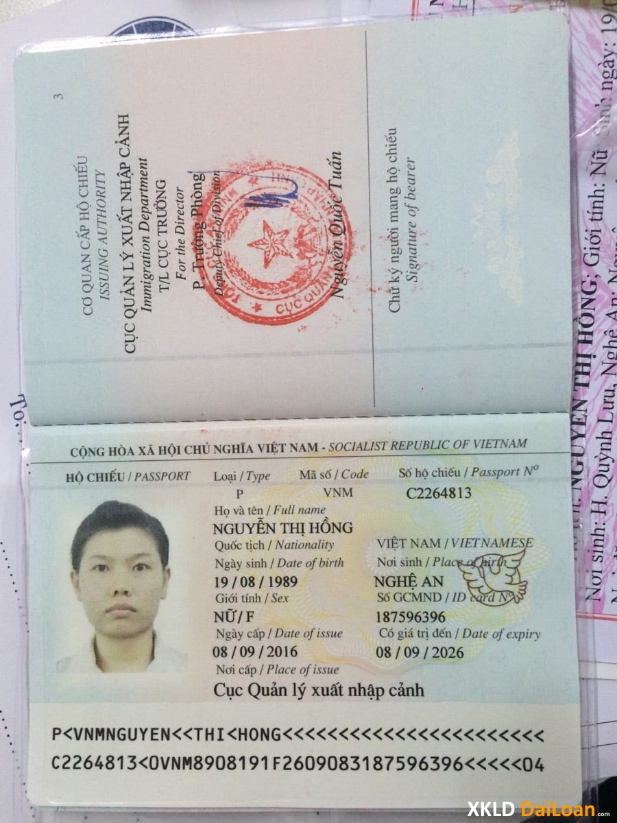 Visa lao động XKLD đi đài loan đã hoàn thiện hồ sơ chuẩn bị bay