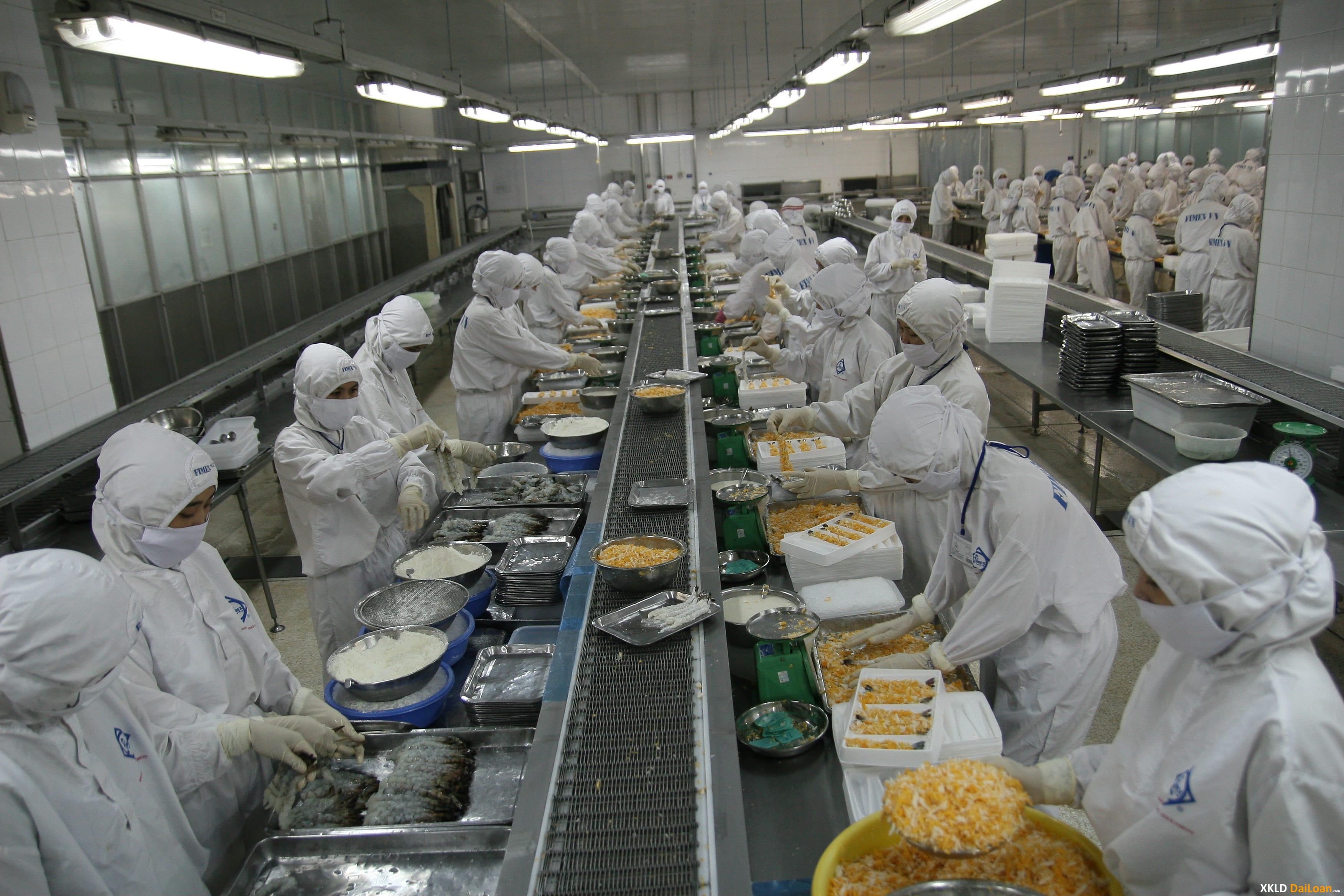 Xuất khẩu lao động tuyển nam sản xuất thực phẩm làm ở Đài Trung