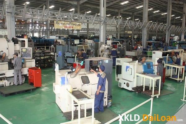 Đơn hàng XKLD Đài Loan cho nam tháng 12 tăng ca tốt