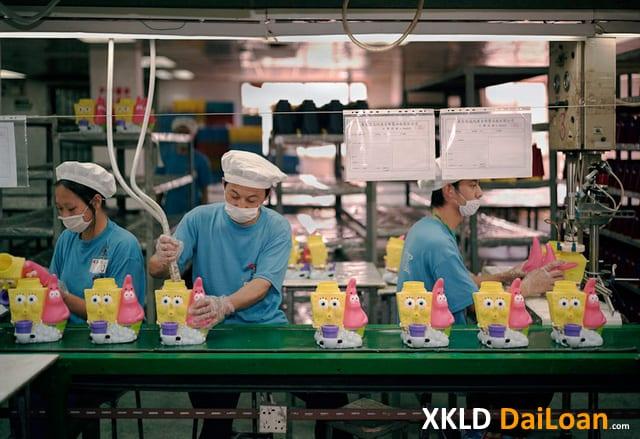 Đơn hàng XKLD Đài Loan phí thấp tháng 12