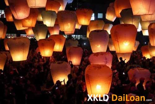 Lễ hội đèn lống lớn nhất Đài Loan