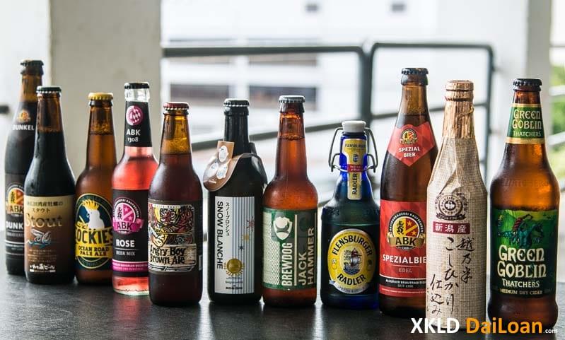 Người Đài Loan chúc rượu bia nhau như thế nào 1