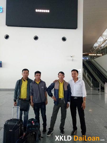 Lao động xuất cảnh tại sân bay tháng 16