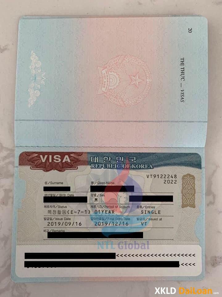 CẦN TUYỂN LAO ĐỘNG ĐI LÀM VIỆC TẠI *HÀN QUỐC* visa E7 bán hàng và E7 chuyên ngành.